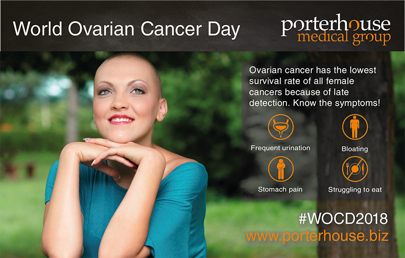 World Ovarian Cancer Day_Porterhouse Medical