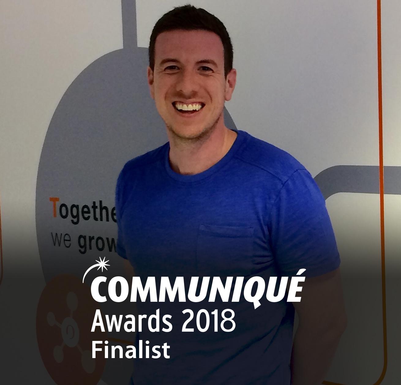Rob Pilbrow_Communique Finalist 2018