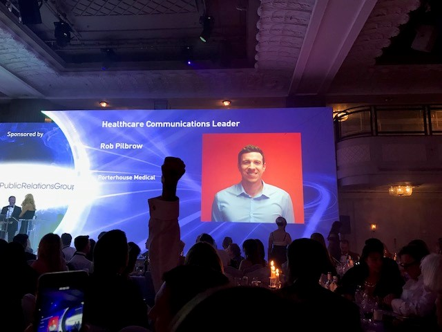Rob Pilbrow_Healthcare Communications Leader_Finalist