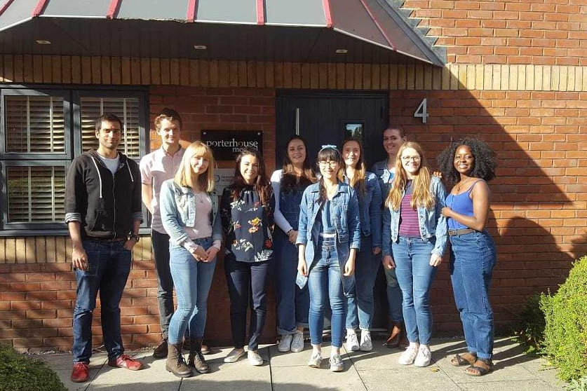 Porterhouse Medical on Jeans for Genes Day 2018