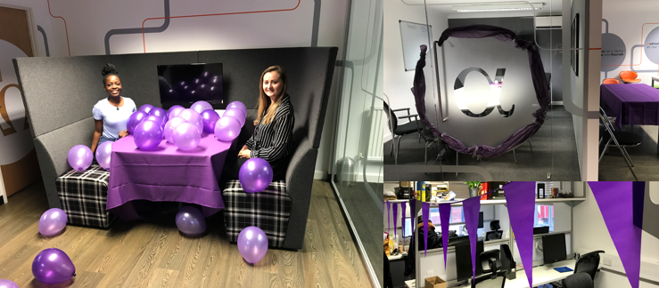 #TurnItPurple office for pancreatic cancer
