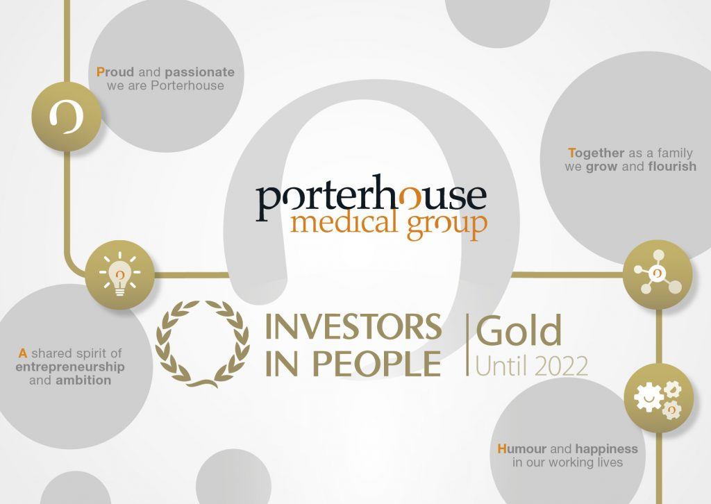 Porterhouse Medical Group_Investors in People_Gold