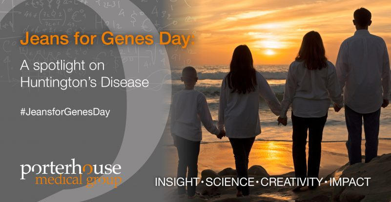 Jeans for Genes Day 2019_Huntington's disease