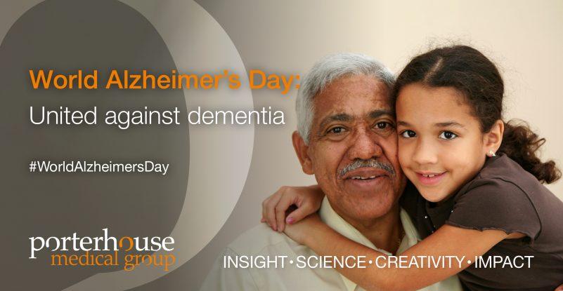 World Alzheimers Day 2019 _United against dementia