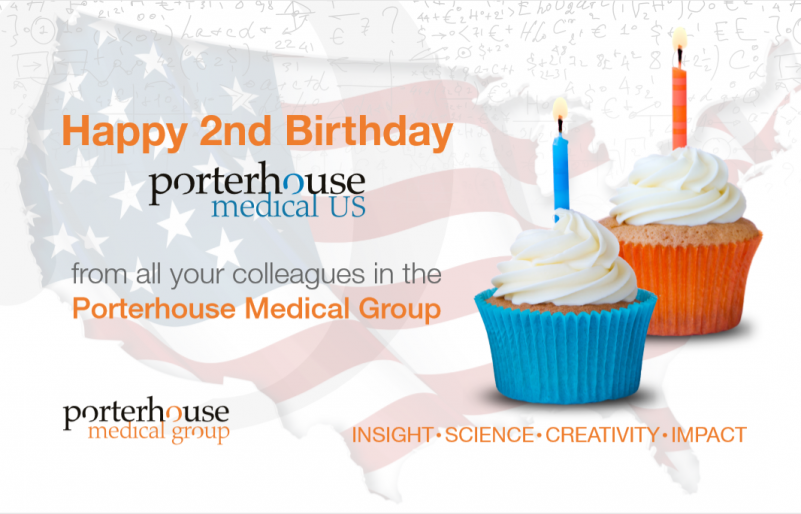 Happy 2nd Birthday Porterhouse Medical US