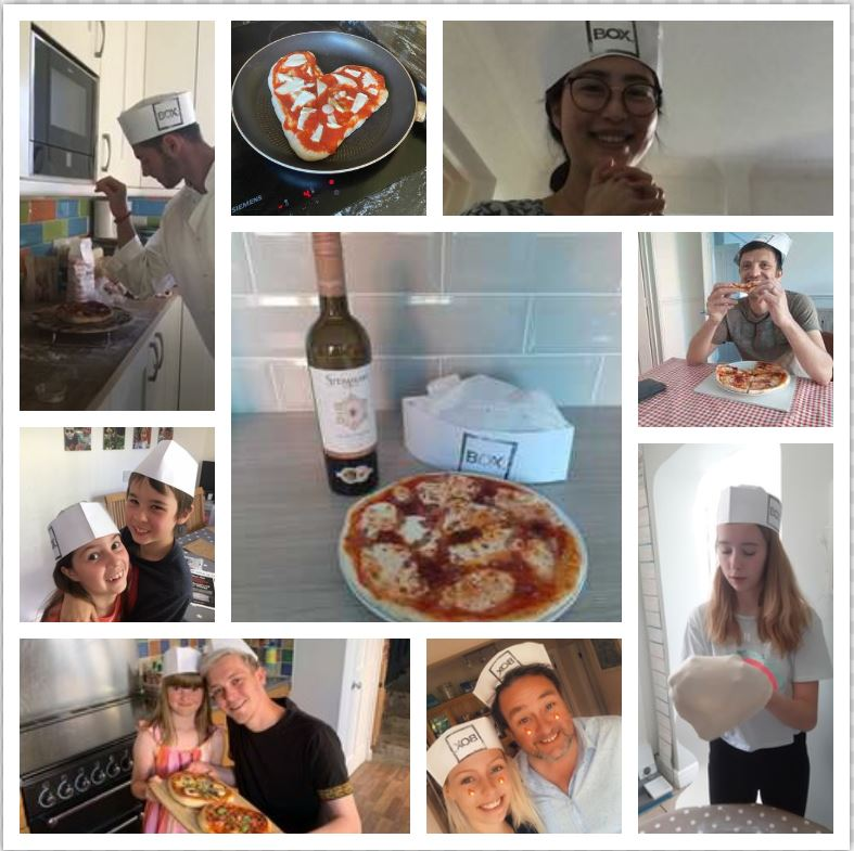 Porterhouse pizza-making social