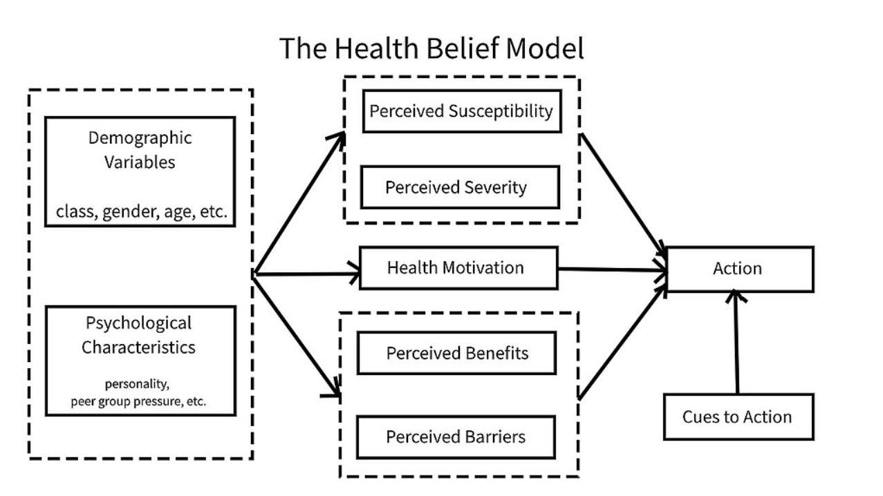Health Belief Model Diagram